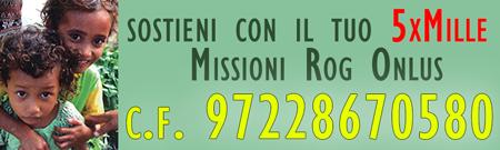 promuove il sostegno a distanza di un bambino povero o di un seminarista bisognoso delle missioni rogazioniste.